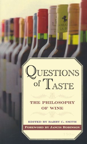 Image for Questions of Taste: The Philosophy of Wine