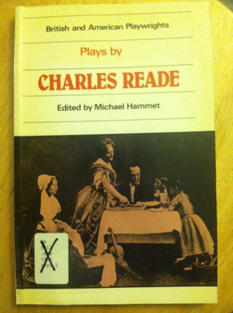 Image for Plays by Charles Reade (British and American Playwrights, Vol. 12)