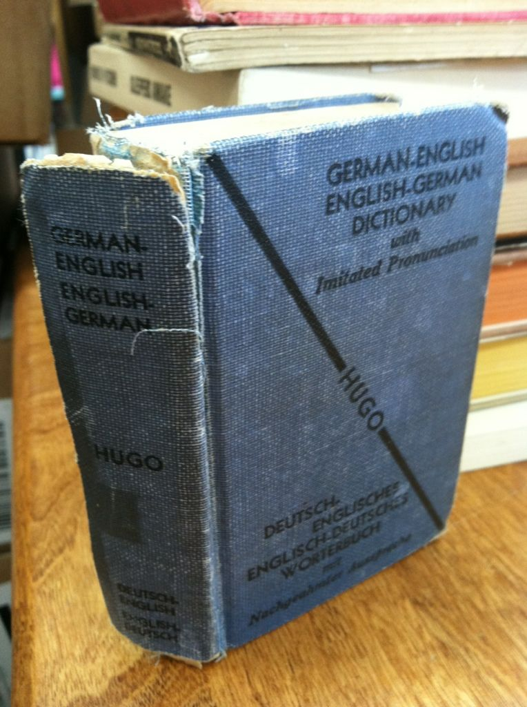 Image for Hugo's Pocket Dictionary German - English and English - German