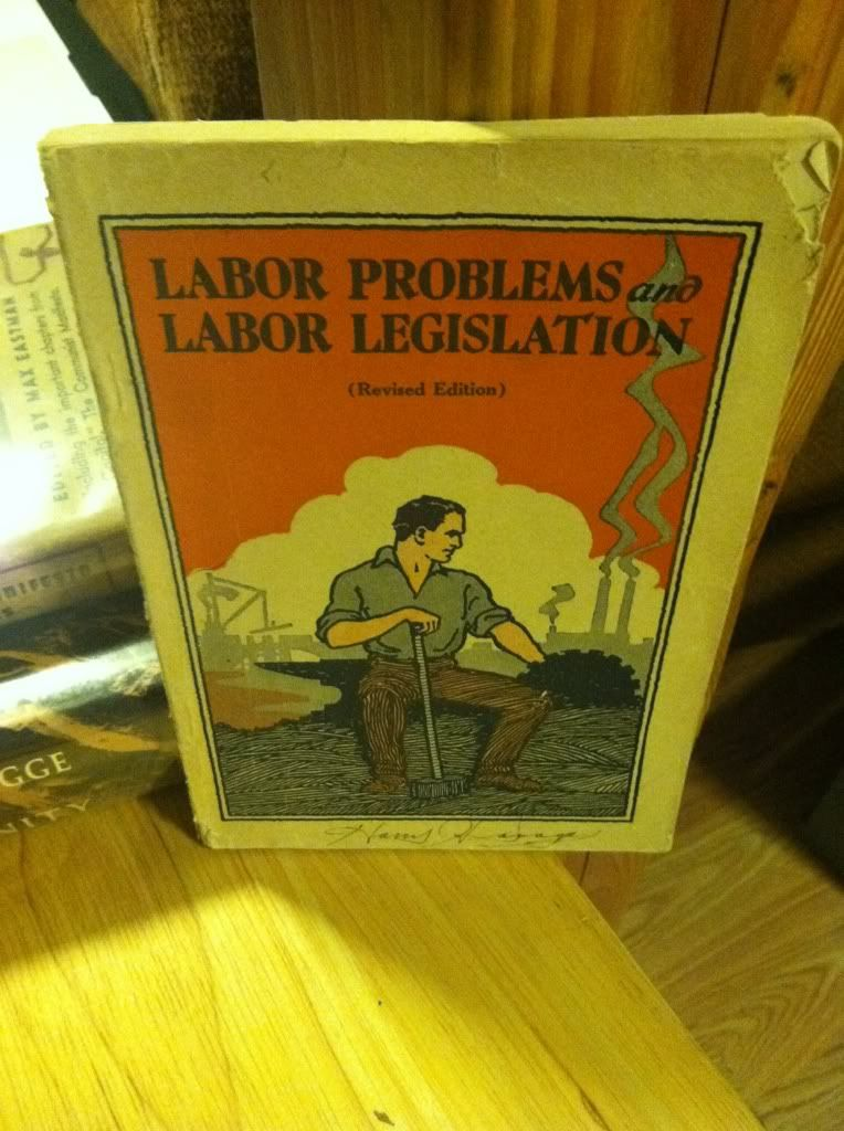 Image for Labor problems and labor legislation