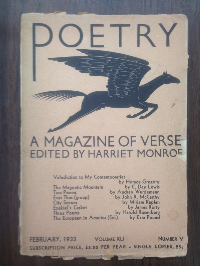 Image for Poetry: A Magazine of Verse, Volume Vol. XLI, No. V [February 1933]