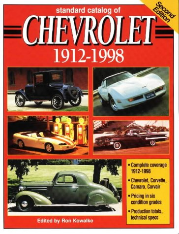 Image for Standard Catalog of Chevrolet, 1912-1998