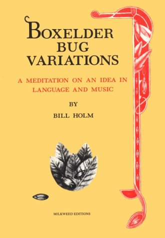 Image for Boxelder Bug Variations: A Meditation on an Idea in Language and Music