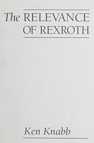 Image for The Relevance of Rexroth