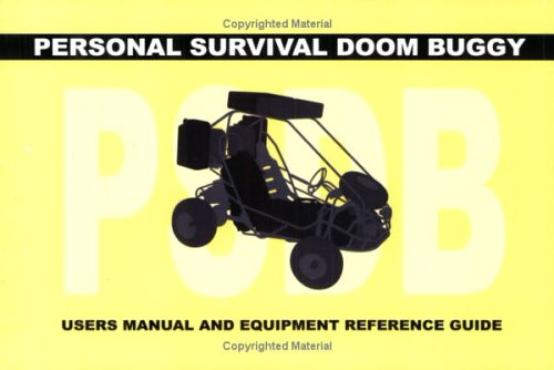 Image for Personal Survival Doom Buggy: Users Manual and Equipment Guide (Artist Book)