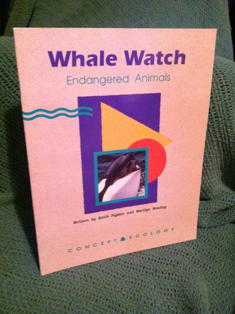 Image for Whale watch: Endangered animals (Concept ecology)