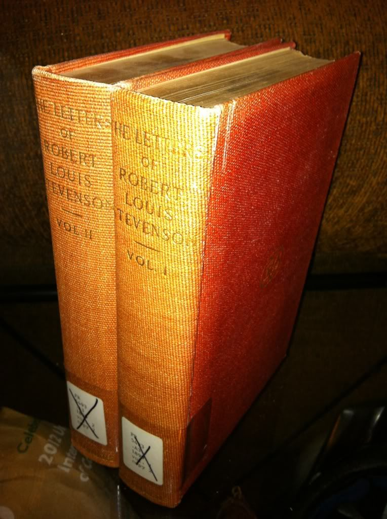 Image for Letters of Robert Louis Stevenson to His Family and Friends (2 Volumes)