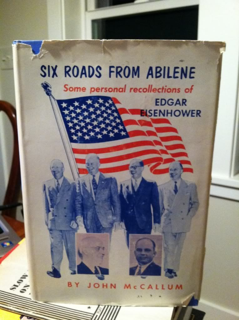 Image for Six roads from Abilene: some personal recollections of Edgar Eisenhower by Eisenhower, Edgar, and McCallum, John Dennis by Eisenhower, Edgar, and McCallum, John Dennis