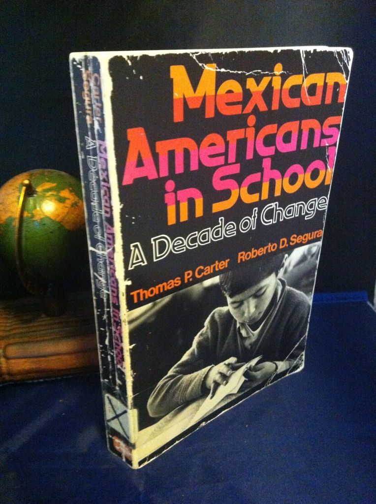 Image for Mexican American in School:  a Decade of Change