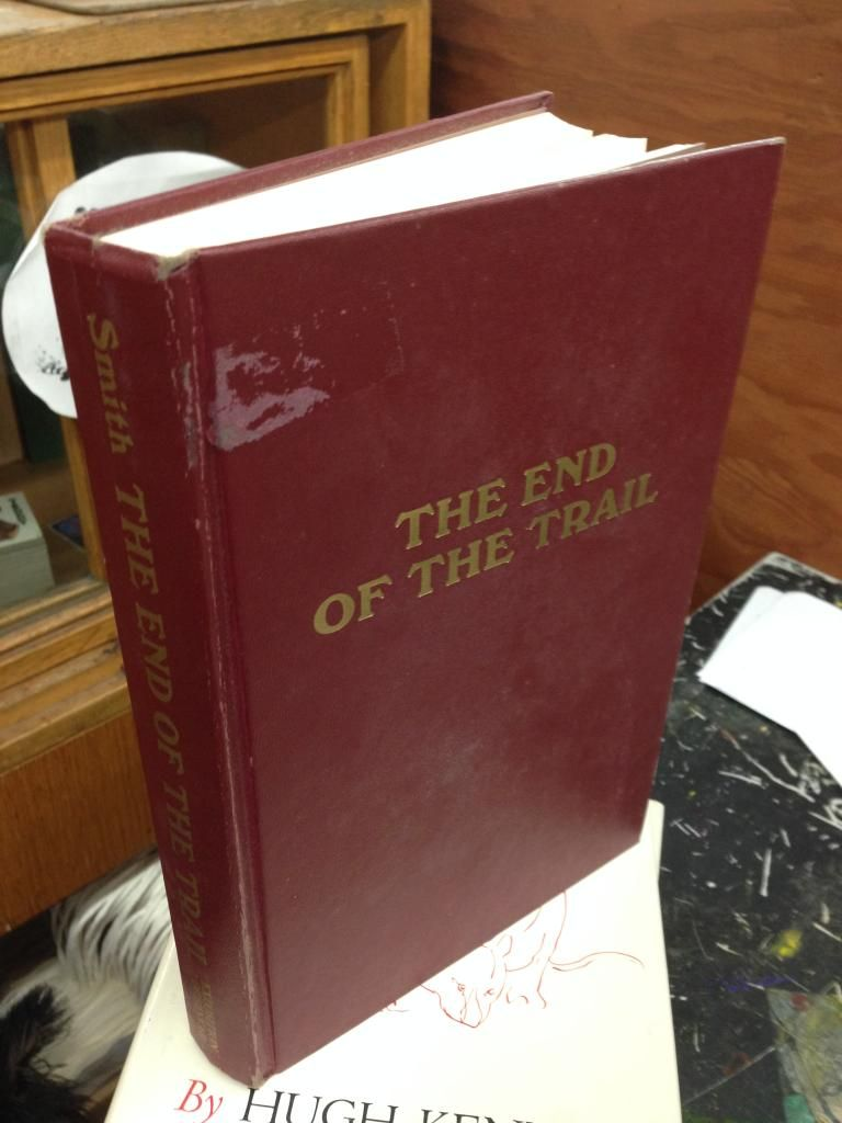 Image for The end of the trail (An Exposition-Lochinvar book)