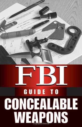Image for FBI Guide To Concealable Weapons