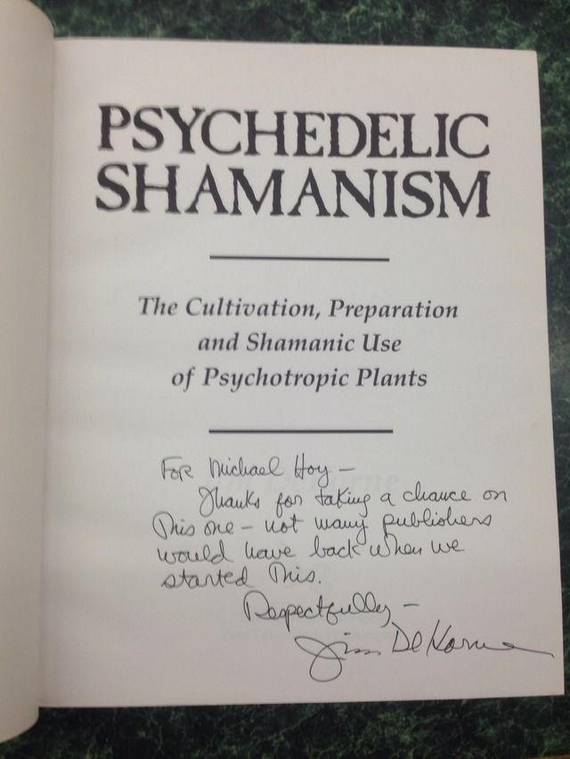 Image for Psychedelic Shamanism. The Cultivation, Preparation and Shamanic Use of Psychotropic Plants