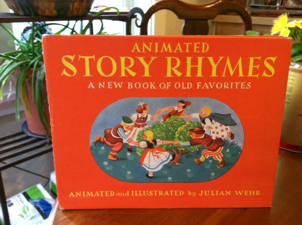 Image for Animated Story Rhymes (A new book of old favorites)