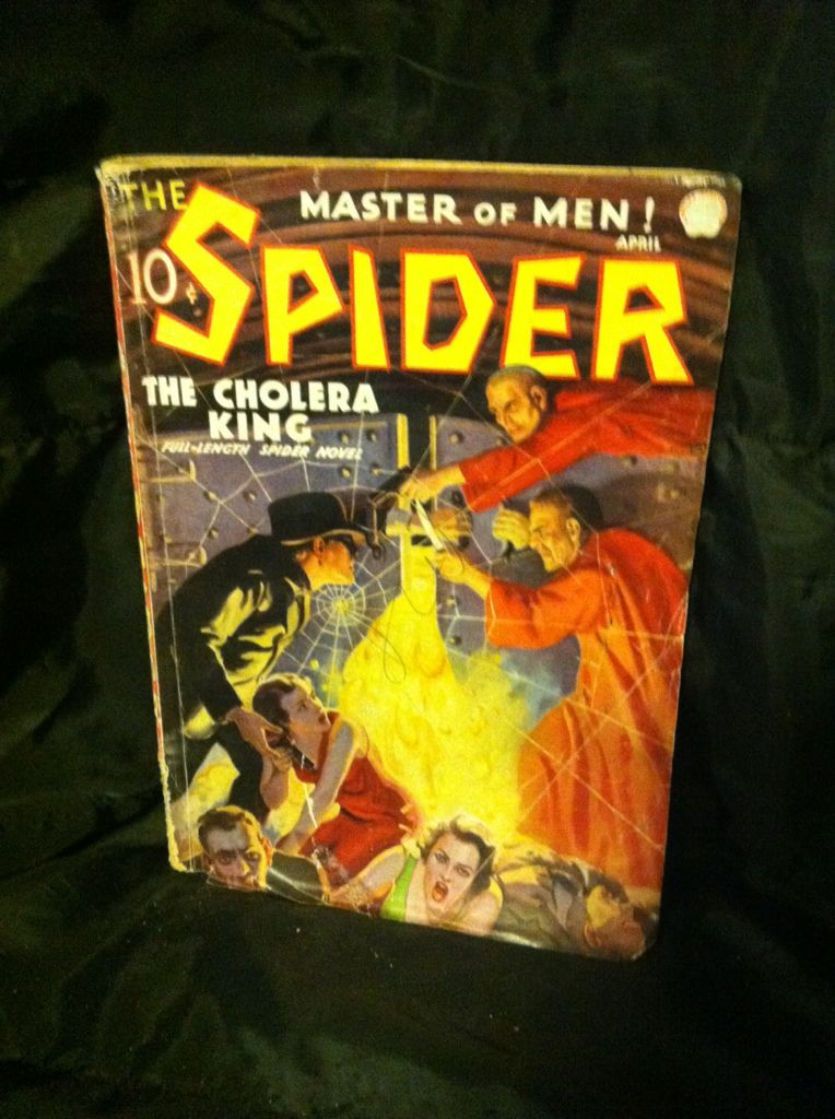 Image for The Spider: Master of Men! April 1936, Vol. 8 #3: The Cholera King by Stockbridge, Grant & Others