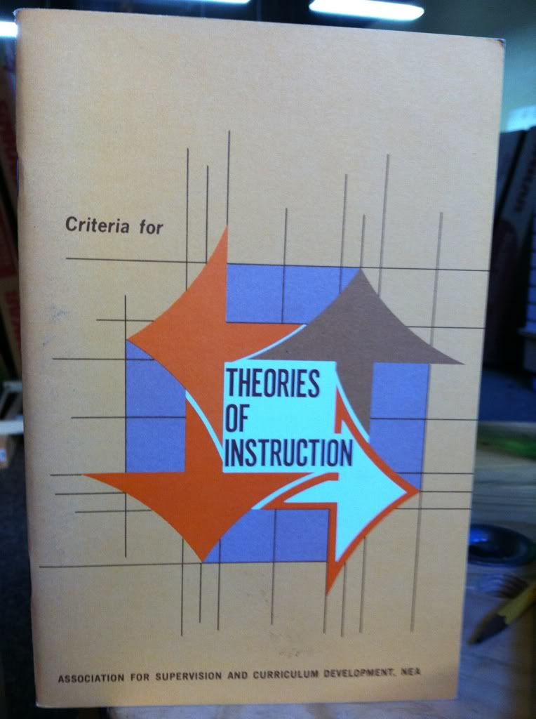 Image for Criteria For Theories Of Instruction