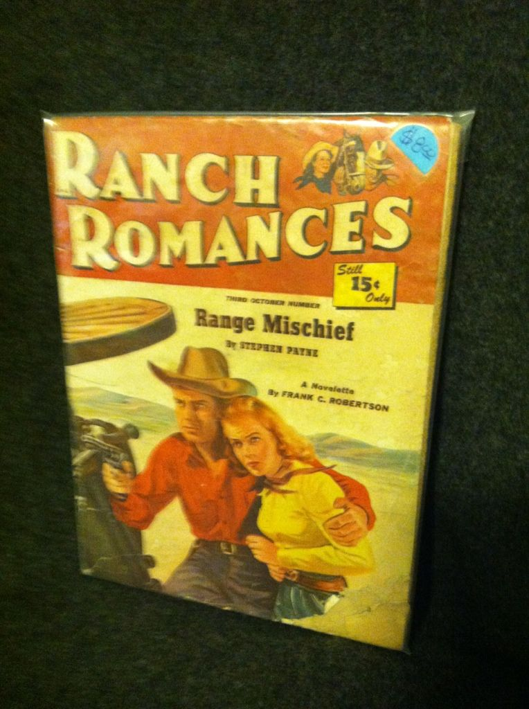 Image for Ranch Romances Third October Number: range Mischief by Stephen Payne by n/a