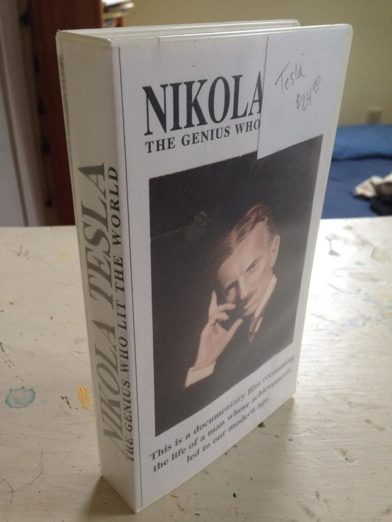 Image for Nikola Tesla - Genius Who Lit the World [VHS]