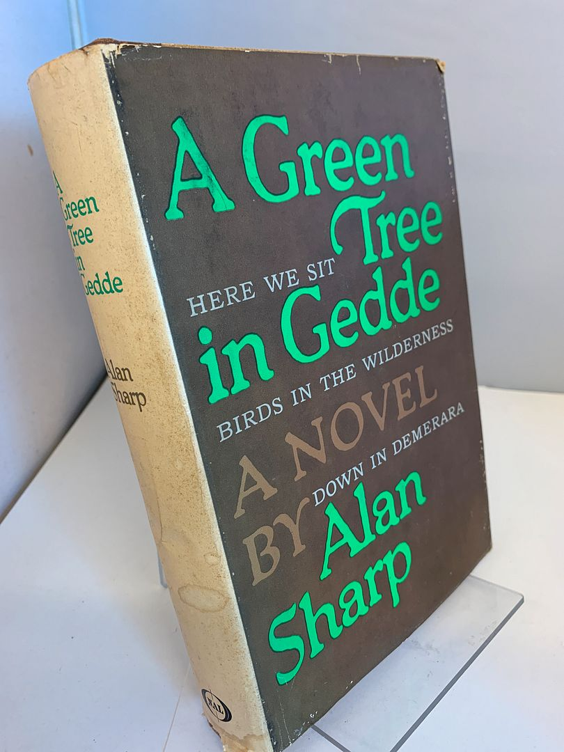 Image for A GREEN TREE IN GEDDE By ALAN SHARP 1965 First Printing