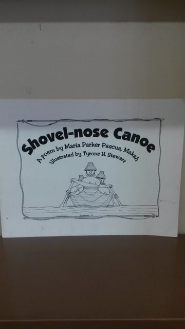 Image for Shovel-nose Canoe by Maria Parker Pascua, Makah