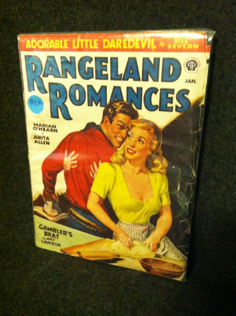 Image for Rangeland Romances January 1948 by n/a
