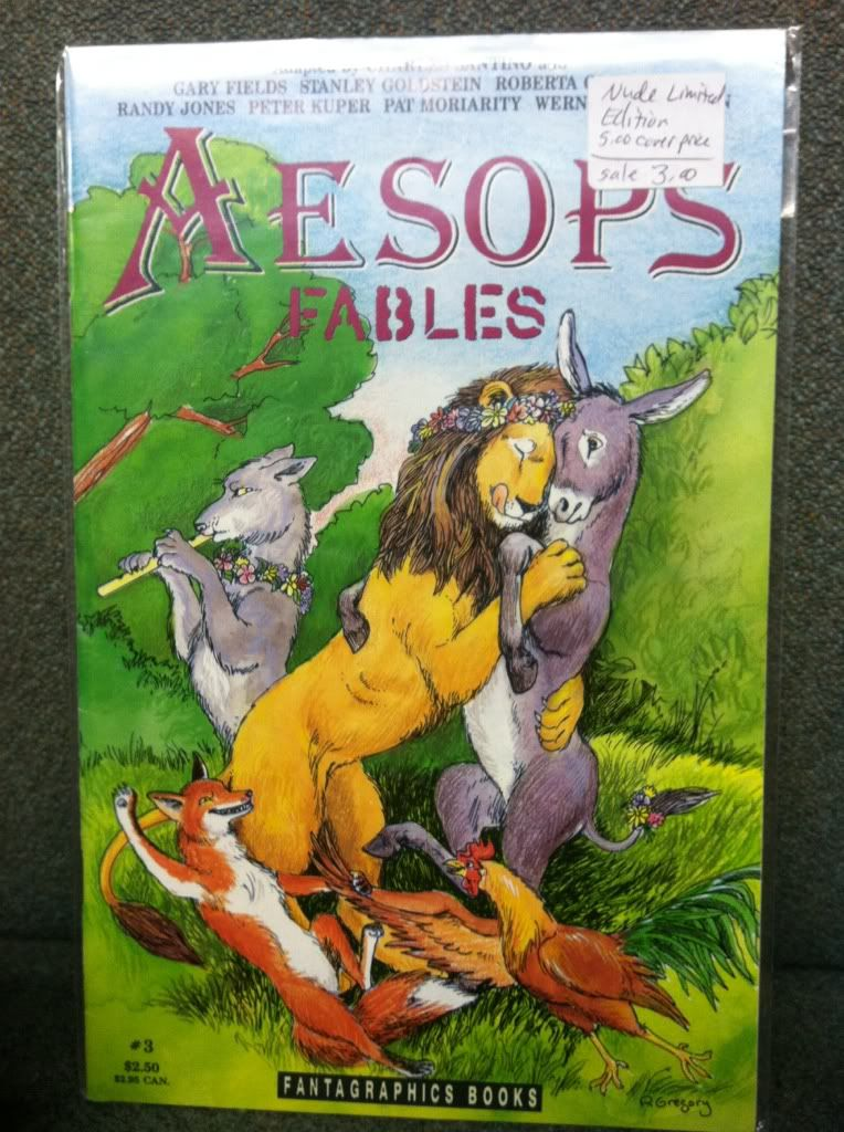 Image for Aesop's Fables #3 Fantagraphics Comic 1991 by n/a