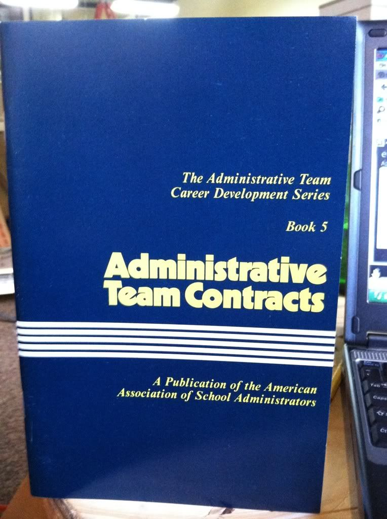 Image for Administrative Team Contracts