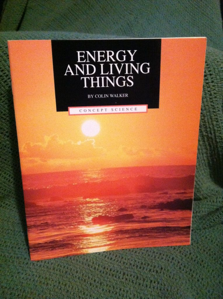 Image for Energy and living things (Concept science)