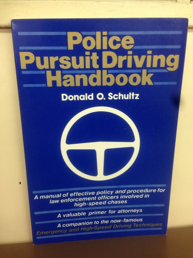 Image for Police Pursuit Driving Handbook