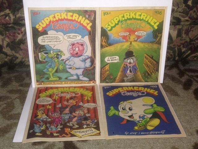 Image for Superkernel Comics Lot x 4 1979 Vol. 2 #s 5, 6, 7 & 9 by Gilchrist, Brad & Gilchrist, Guy