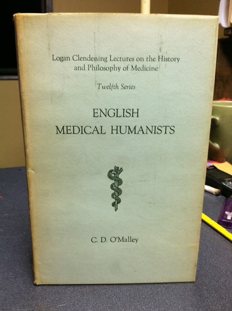 Image for English Medical Humanists by O'Malley, C.D.