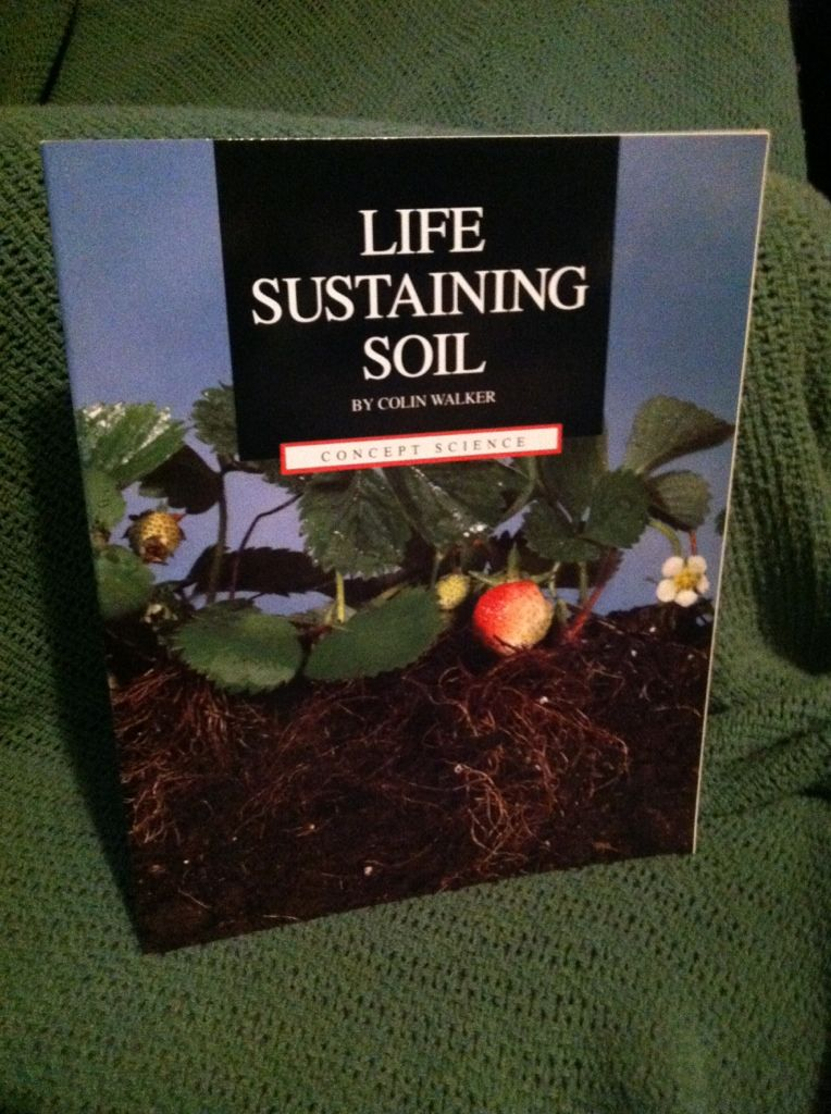 Image for Life sustaining soil (Concept science)