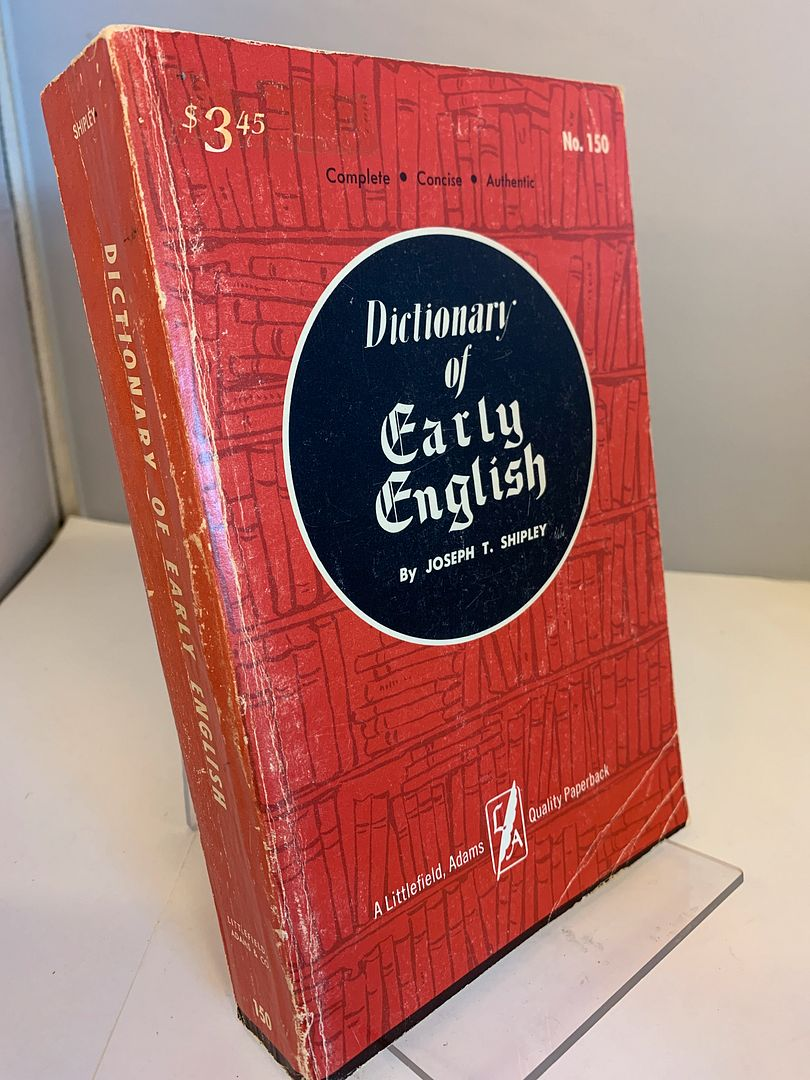 Image for Dictionary of Early English