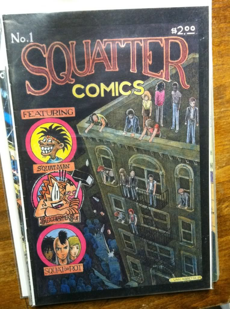 Image for SQUATTER COMICS. No. 1 [One].