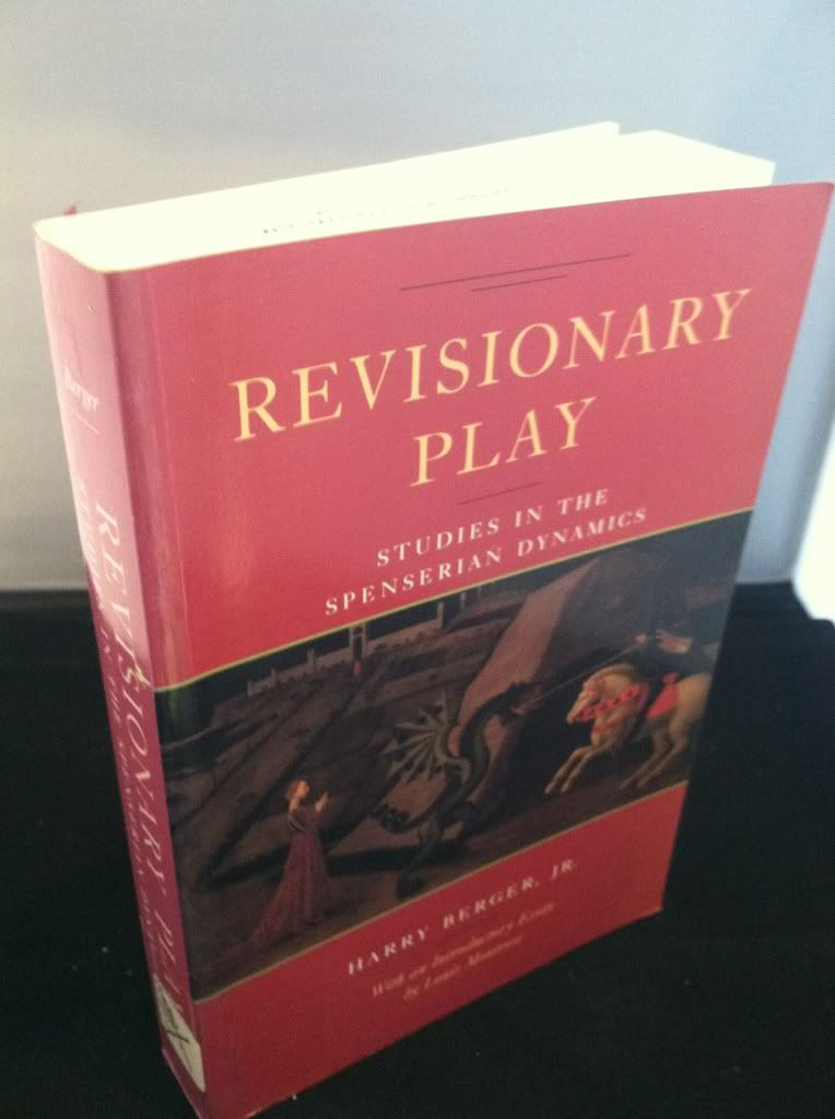 Image for Revisionary Play: Studies in the Spenserian Dynamics