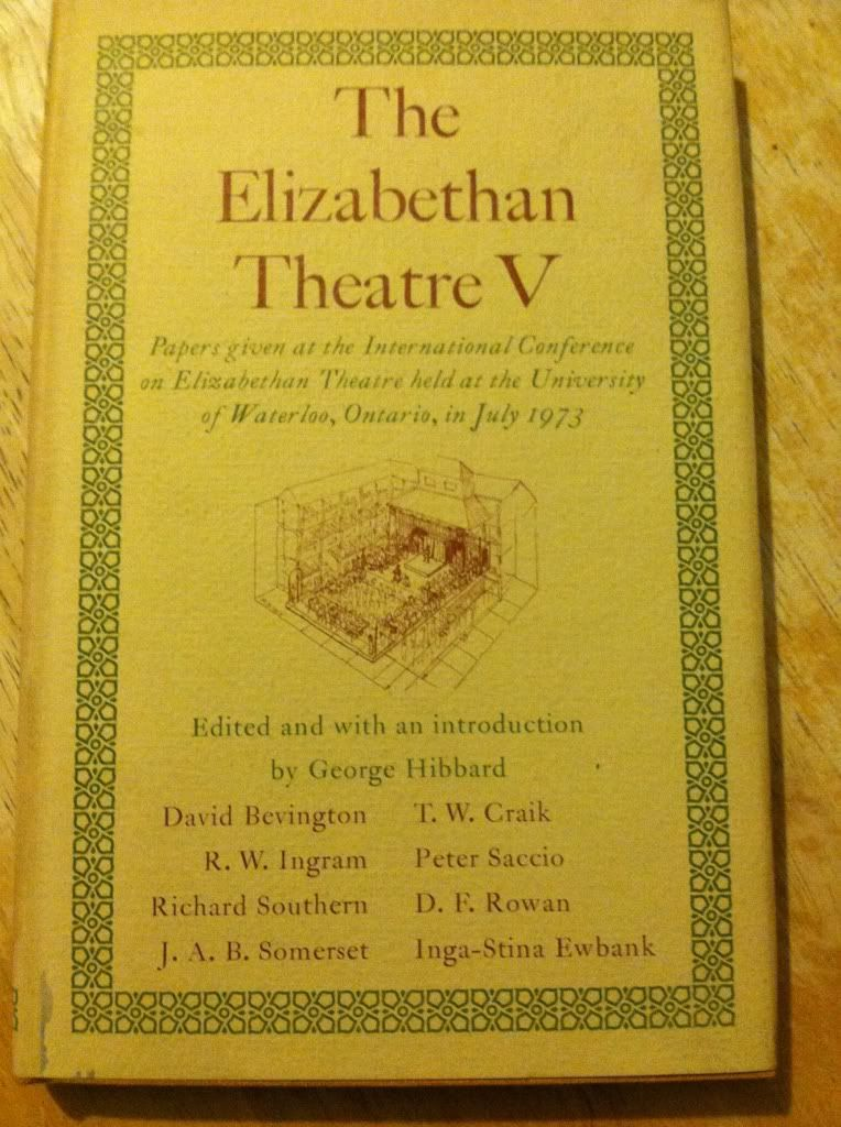 Image for The Elizabethan theatre V: Papers given at the Fifth International Conference on Elizabethan Theatre held at the University of Waterloo, Ontario, in July 1973