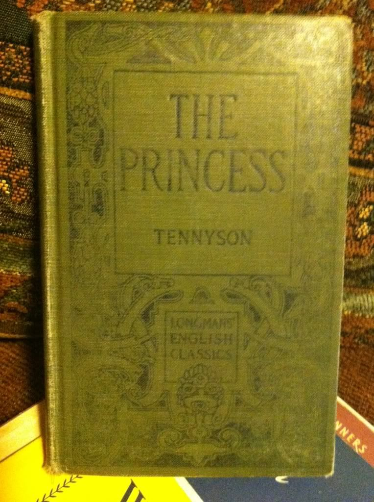 Image for Tennyson's The Princess by Woodberry, George Edward