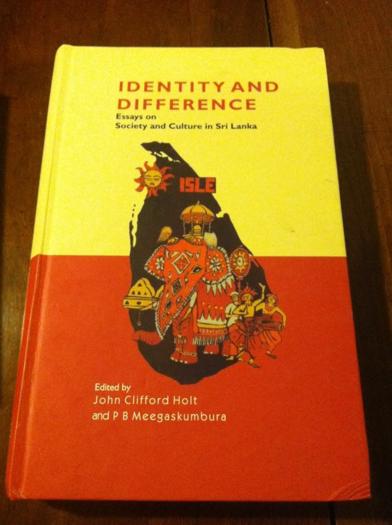 Image for Identity and Difference: Essays on Society and Culture in Sri Lanka