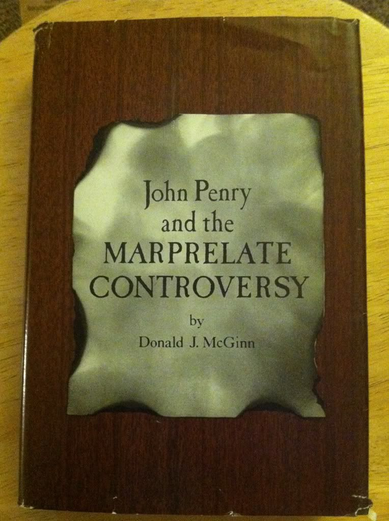 Image for John Penry and the Marprelate controversy.