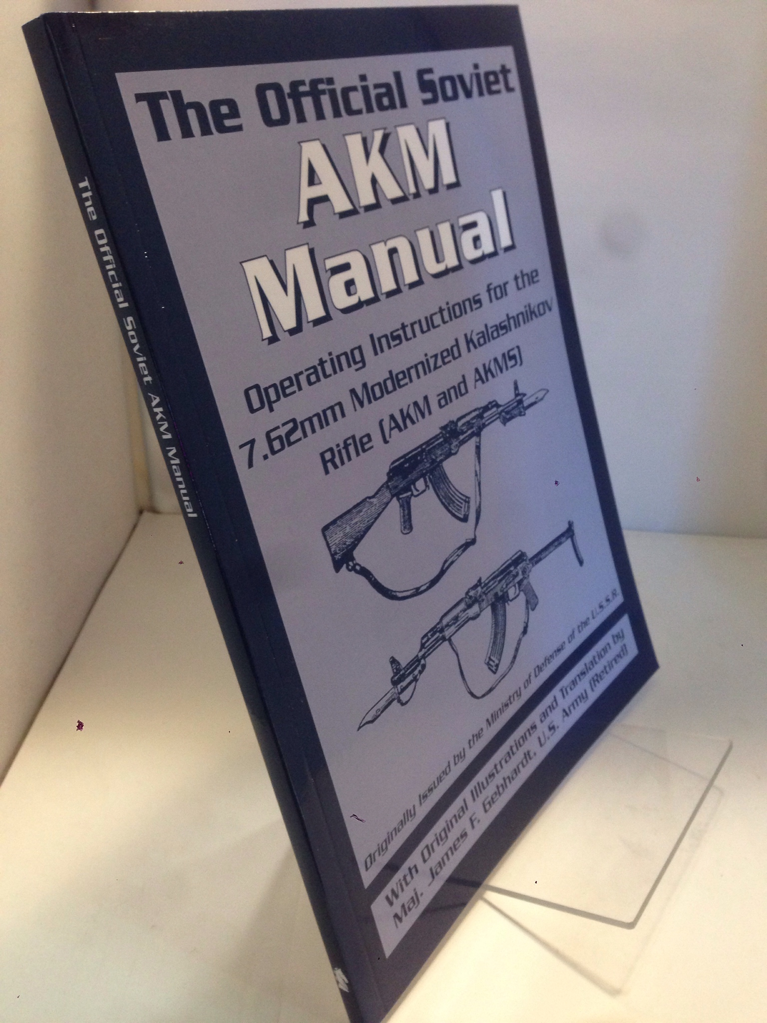 Image for The Official Soviet AKM Manual