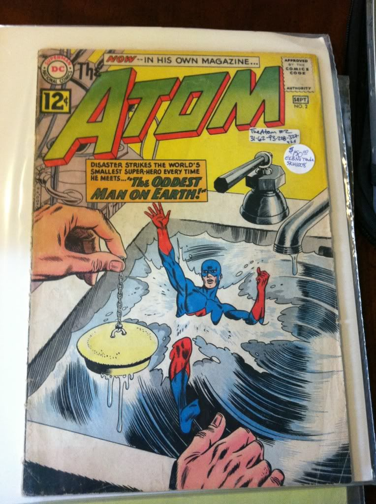 Image for The Atom No. 2 September 1962 DC Comics by n/a