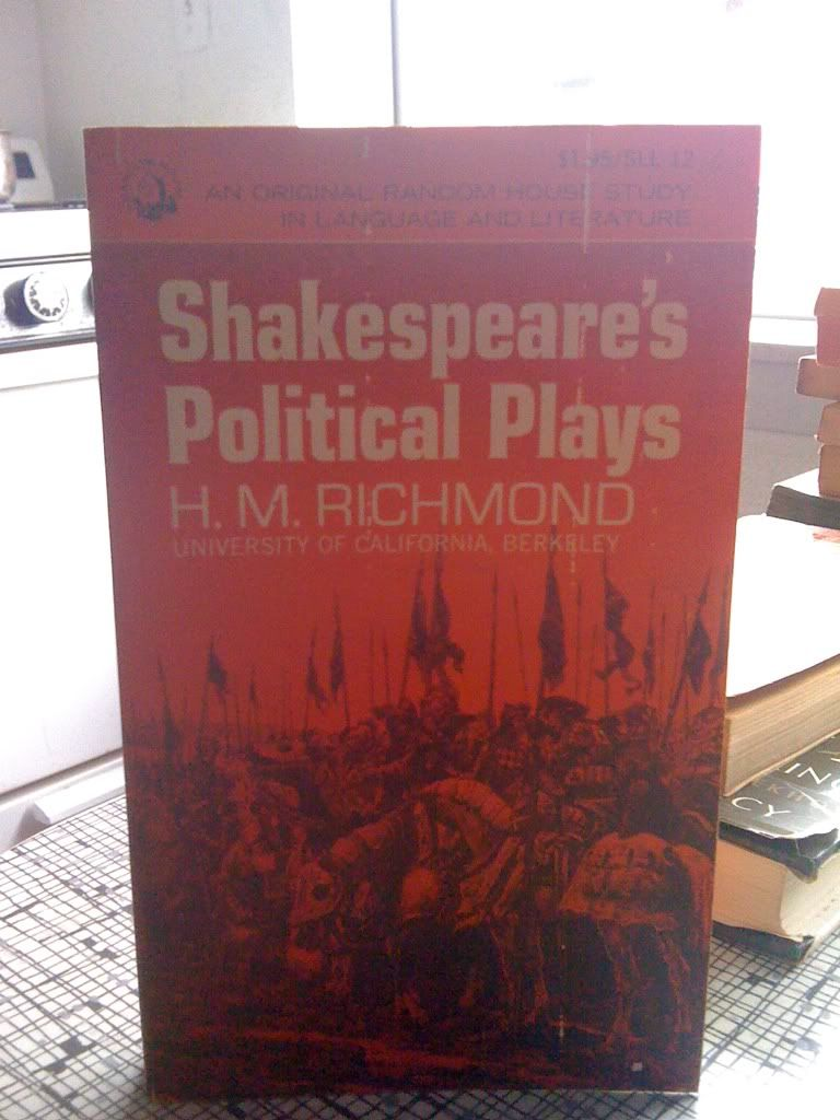 Image for Shakespeare's Political Plays (Studies in Language and Literature, No. 12)