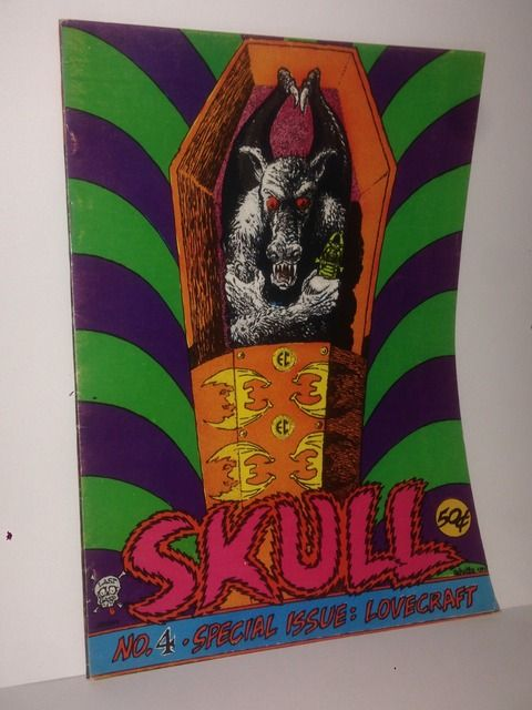 Image for Skull Comics #4 Special Issue: Lovecraft