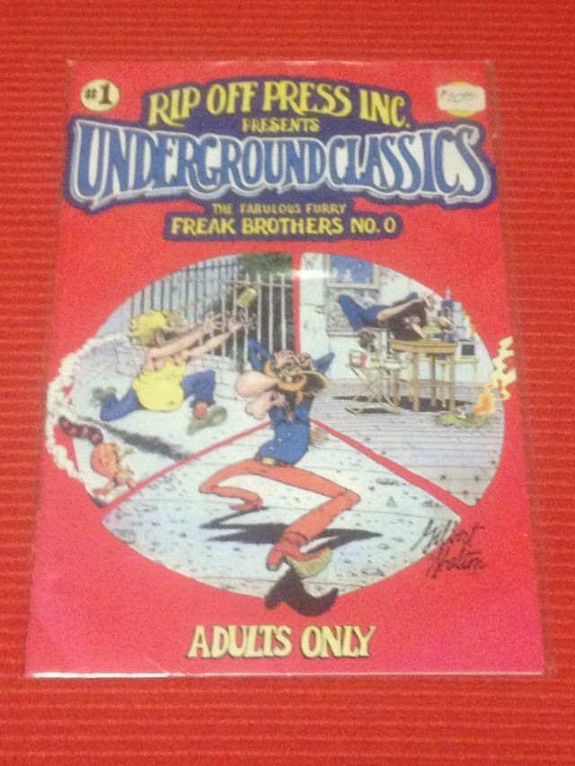 Image for Rip Off Press Inc. Presents Underground Classics (#1) - The Fabolous Furry Freak Brothers No. 0