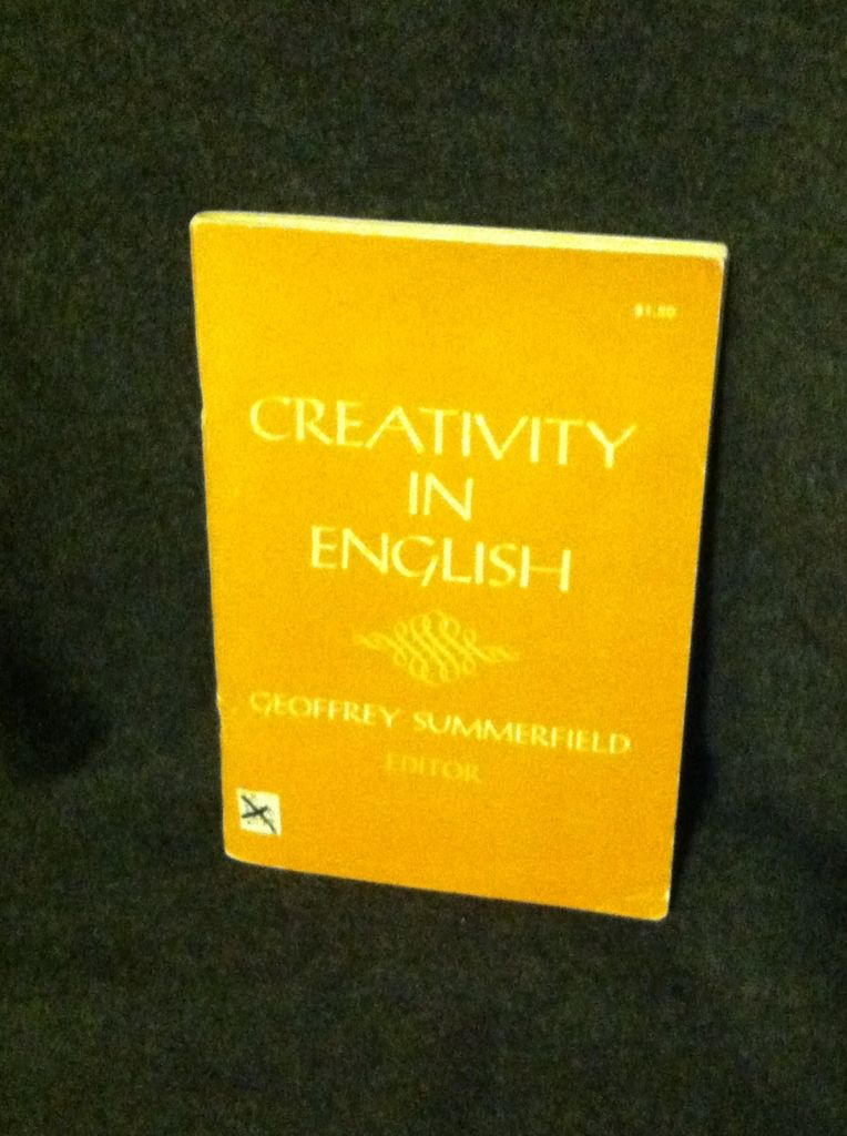 Image for Creativity in English