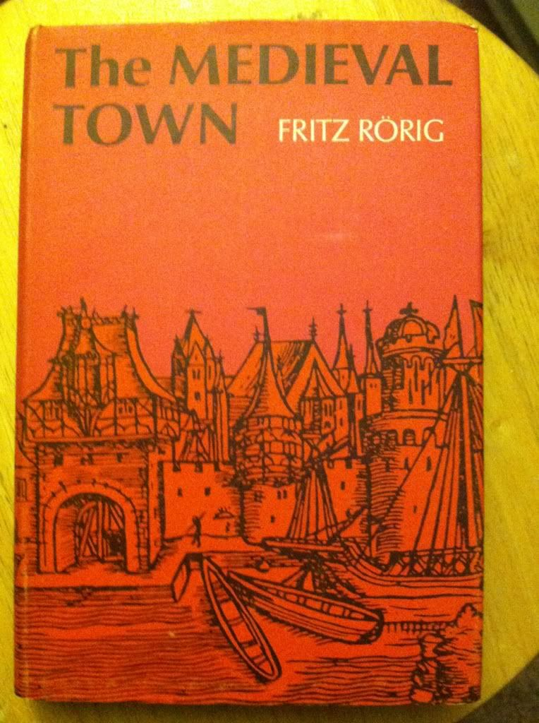 Image for The Medieval Town by Fritz Rorig