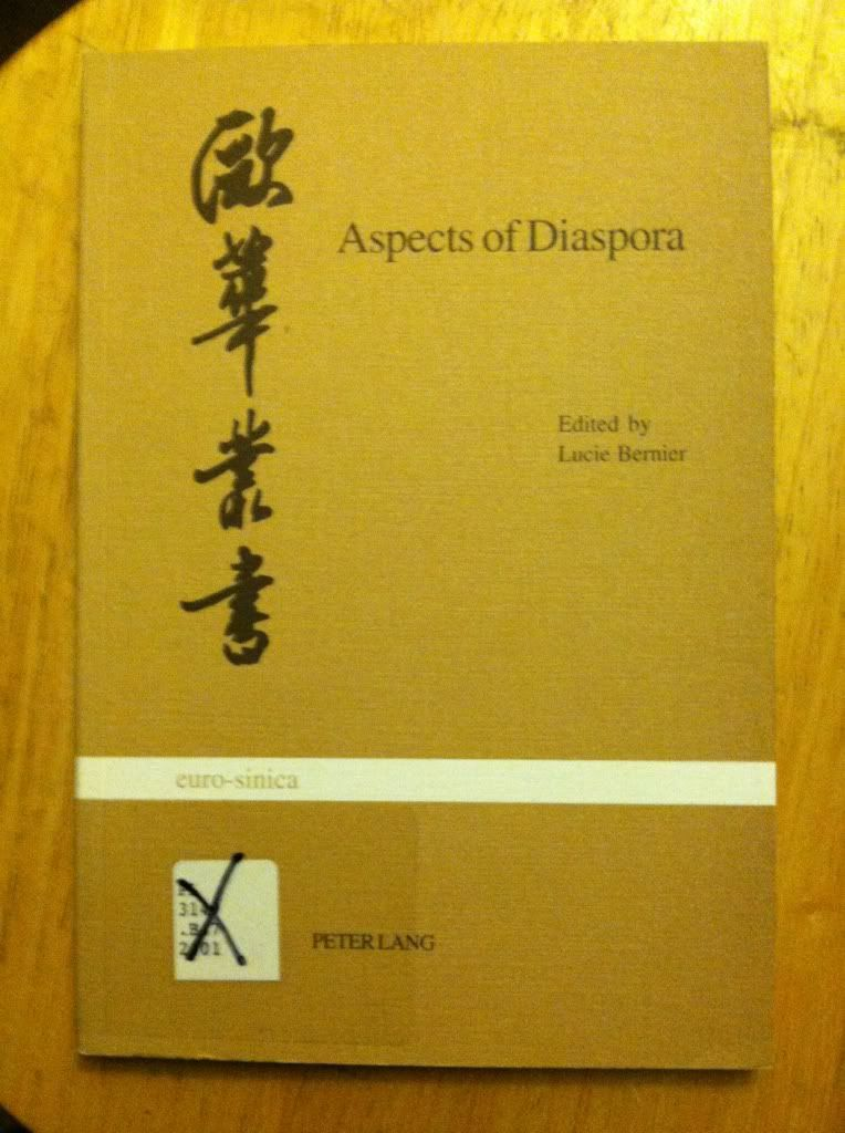 Image for Aspects of Diaspora: Studies on North American Chinese Writers (Eurosinica)