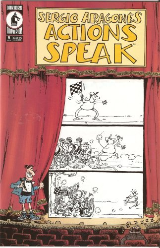 Image for Sergio Aragones Actions Speak #5 May 2001