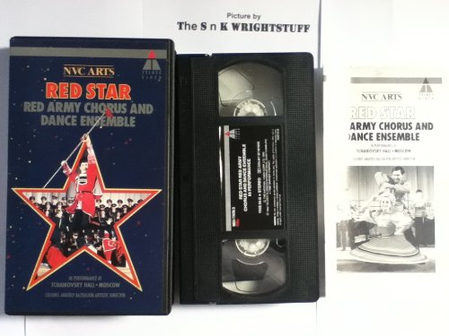 Image for Red Star:  Red Army Chorus and Dance Ensemble in Performance at Tchaikovsky Hall, Moscow [VHS]