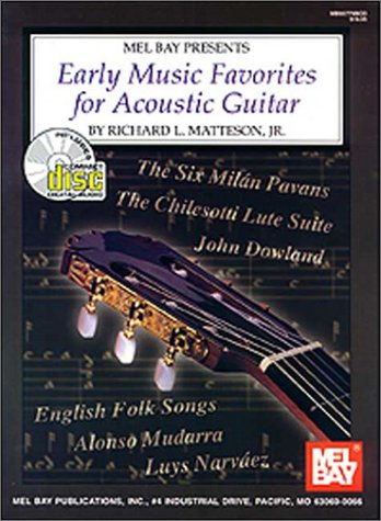 Image for Mel Bay Early Music Favorites For Acoustic Guitar