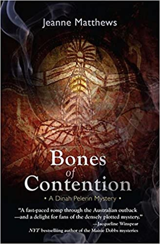 Image for Bones of Contention: A Dinah Pelerin Mystery (Dinah Pelerin Mysteries)